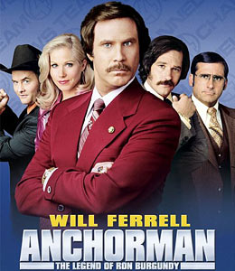 Anchorman - The Legend of Ron Burgundy sound clips - Movie Sound Clips
