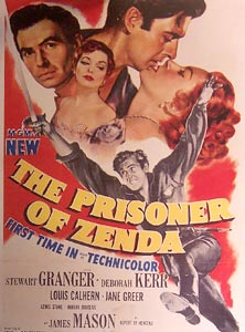 The Prisoner of Zenda sound clips