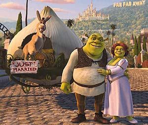 Shrek 2 sound clips
