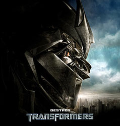 Transformers sound clips